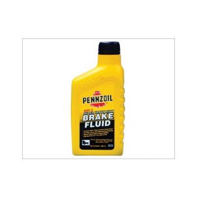 PENNZOIL BRAKE FLUID DOT 3 (12X12 OZ)