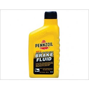 PENNZOIL BRAKE FLUID DOT 3 (12X12 OZ)